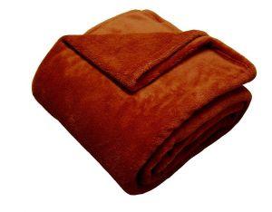 !_zvetsit fotografii_! - Super soft deka - tehlová