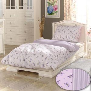 !_zvetsit fotografii_! - PROVENCE COLLECTION Lavender fialová bavlnené obliečky
