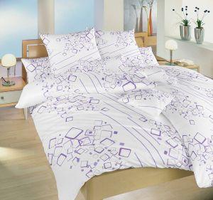 Krepové obliečky Lavína fialová