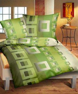 Flanelové obliečky Filip zelený