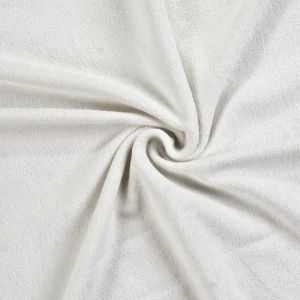 Froté prestieradlo biele