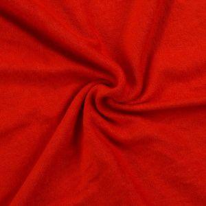Froté prestieradlo červené