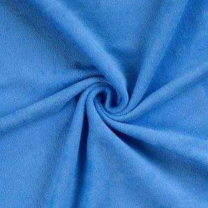 Froté prestieradlo modré