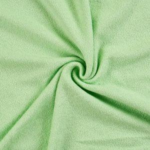 Froté prestieradlo světle zelené