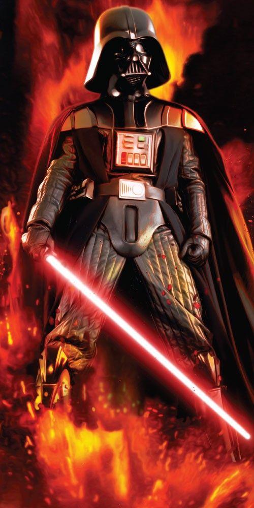 Plážová osuška Star wars Dart Vader