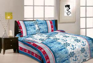 Bavlnené posteľné obliečky Námorníctvo