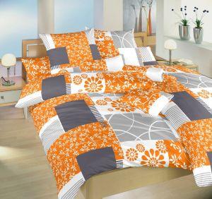 Saténové obliečky Bluemoon oranžový