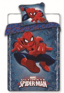 Superhrdina na bavlnenom detskom posteľných obliečkach Spiderman 2016, Jerry Fabrics