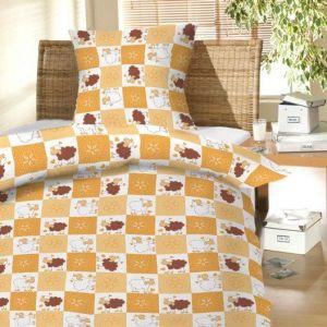 Do detských postieľok krásne detské bavlnené posteľné obliečky Baránkovia hnedí, Hybler textil