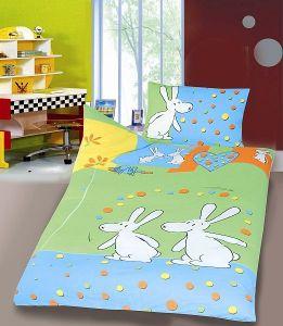Detské bavlnené obliečky do postieľky - Bob a Bobek žongléri Hybler textil