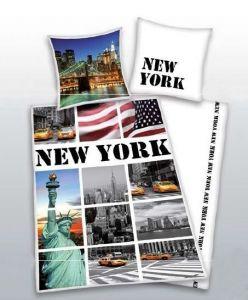Bavlnené posteľné obliečky Herding 4459.48 - New York,
