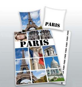 Kvalitné bavlnené posteľné obliečky Paris fototlač, Herding