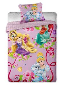 Kvalitné bavlnené obliečky posteľná Disney - Princess 2015, Jerry Fabrics