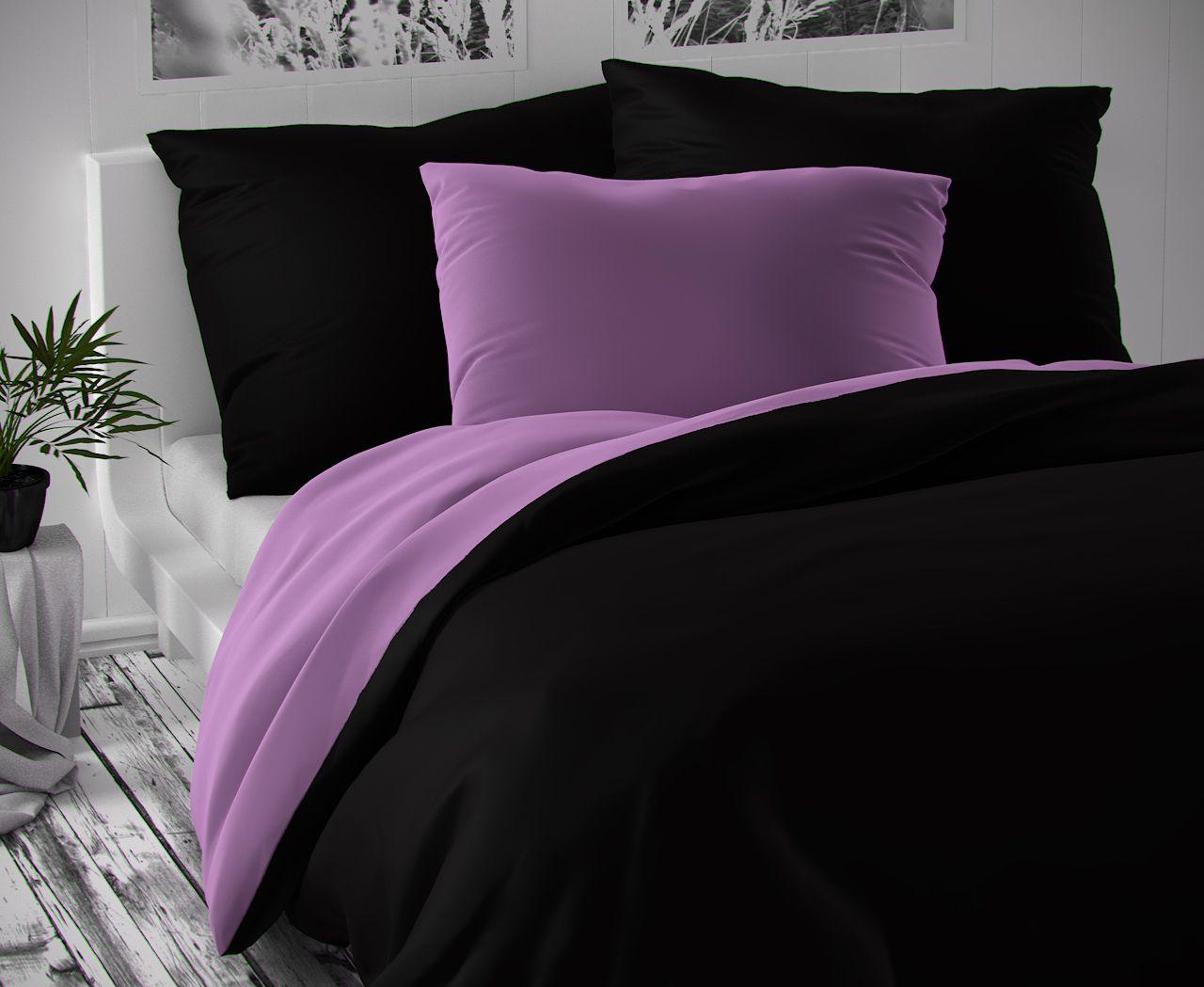 LUXURY COLLECTION - černé / světle fialové