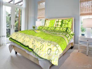 Bavlnené obliečky Gregor zelený