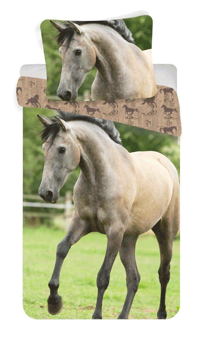 Bavlněné povlečení fototisk Horse western