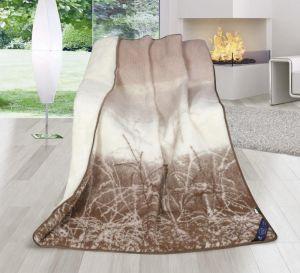 Vlnená deka DUO 155 x 200 cm príroda - austrálske merino