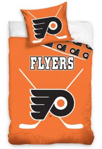 Bavlnené obliečky NHL Philadelphia Flyers