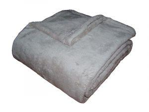 Fine soft deka Dadka svetlo šedá