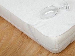 Nepriepustný a priedušný chránič matraca (matracový chránič) s PVC, Dadka