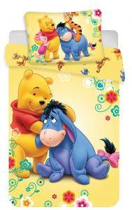 Bavlnené obliečky do postieľky Macko Pu baby Disney