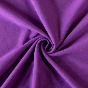 Jersey prestieradlo tmavo fialové