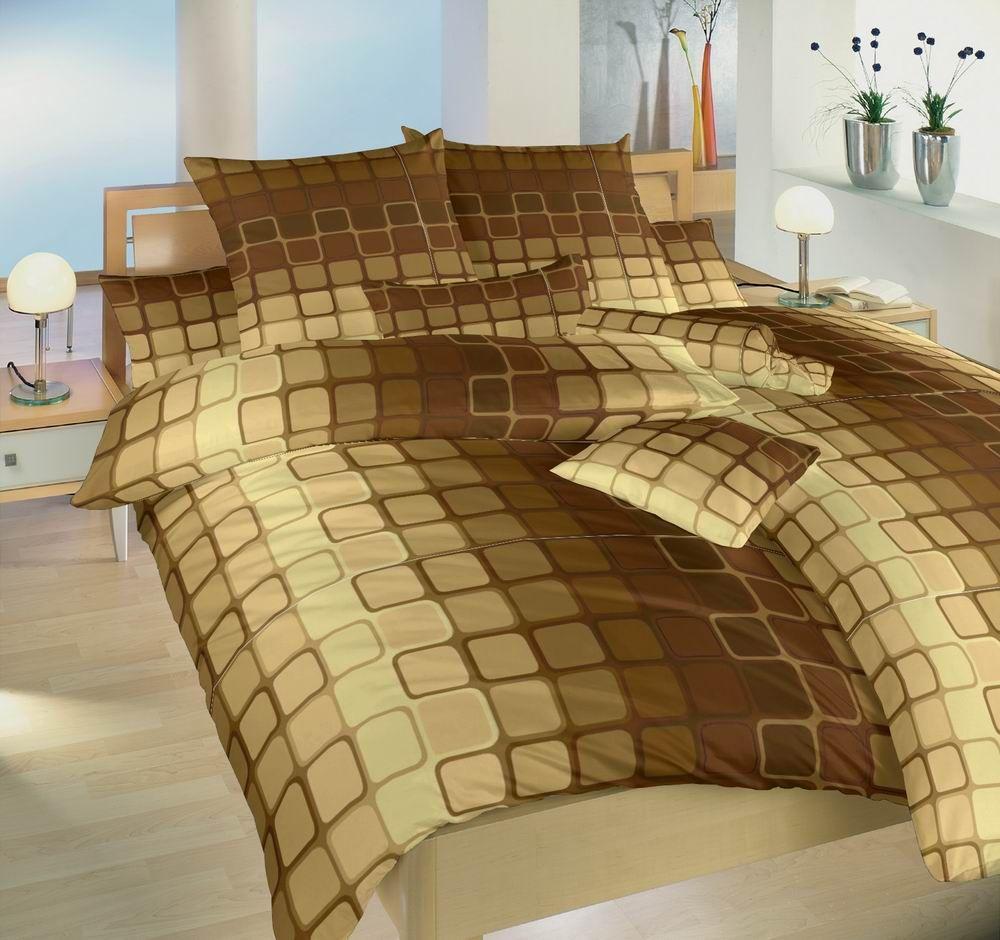 Bavlněné ložní povlečení Čokoláda hnědá