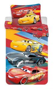 Bavlnené obliečky Cars red 02