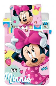 Bavlnené obliečky do postieľky Disney Minnie sweet 072 baby