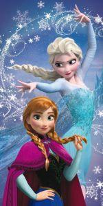 Osuška Frozen magic 70x140 cm