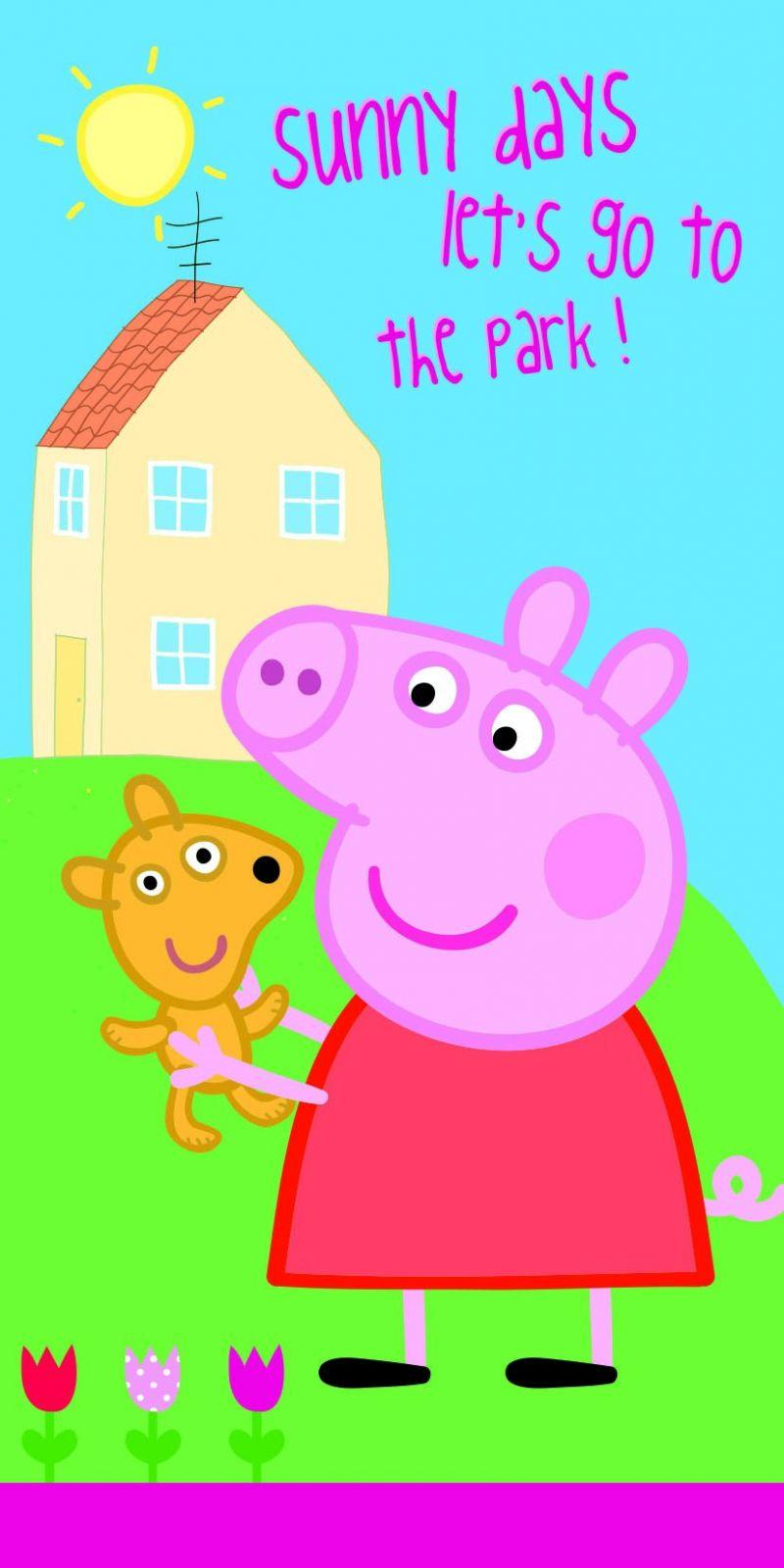 Osuška Peppa Pig 009 70x140 cm