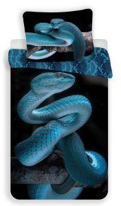 Bavlnené obliečky fototlač Had