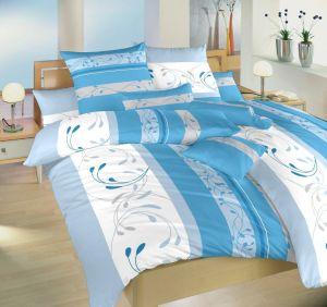 Krepové obliečky Sliezsko modré