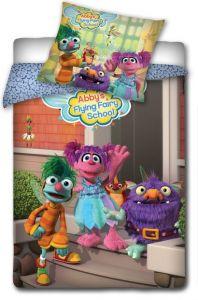Detské bavlnené posteľné obliečky ANIMAL PLANET Sesame street, Carbotex