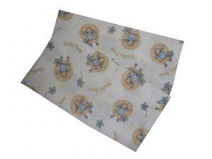 Pre novorodenca kvalitné látková detská plienka Ovečky modré (balenie 5 ks), PREM INTERNACIONAL