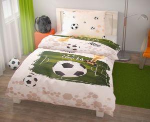 Bavlnené obliečky Futbal