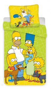Obliečky Simpsons green 02