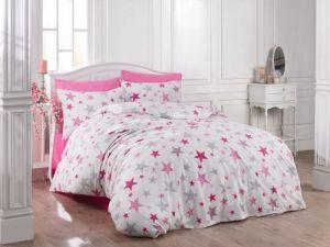 Bavlnené obliečky Hviezdy ružové