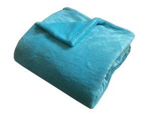 Od českého výrobcu kvalitné Super soft deka Dadka tyrkys,