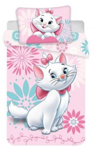 Disney obliečky do postieľky Márie cat flowers baby