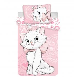 Obliečky Marie Cat pink heart