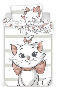 Disney obliečky do postieľky Márie cat white baby
