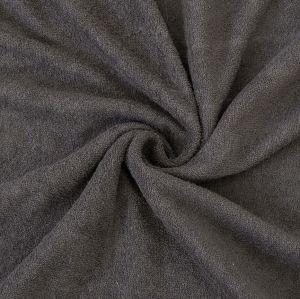 Froté plachta tmavo šedé