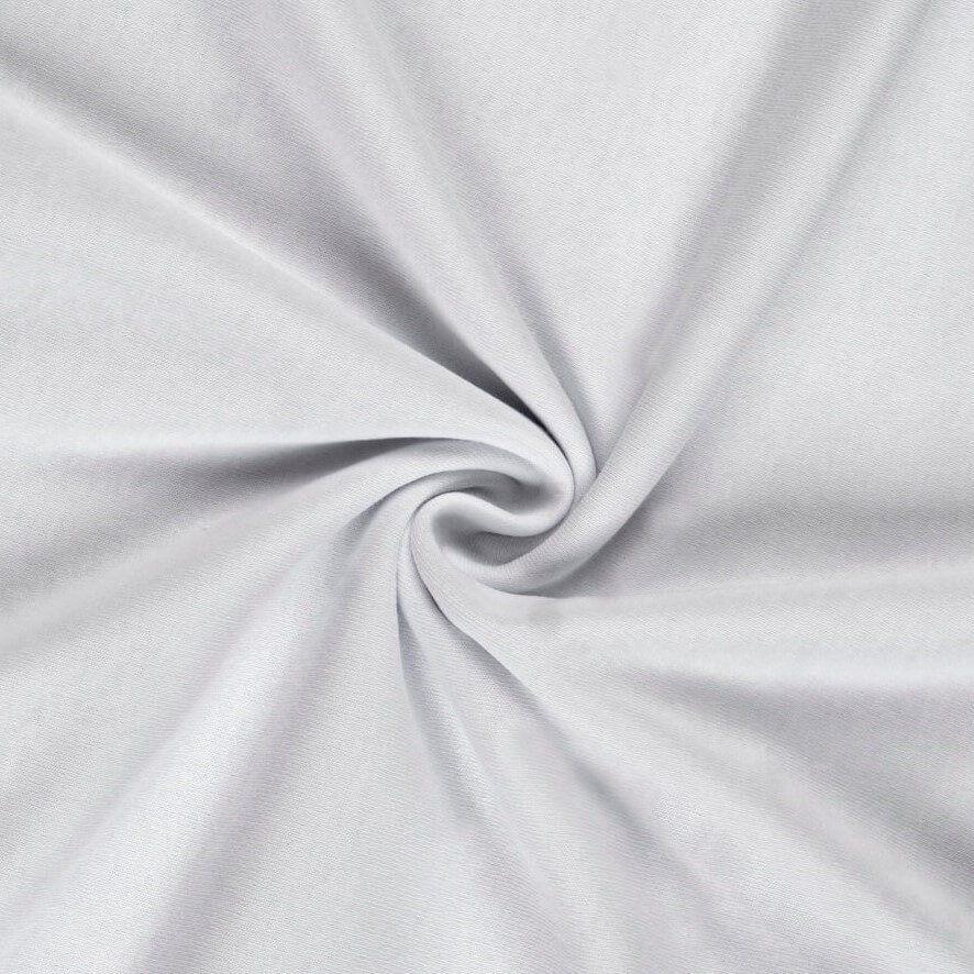 Jersey prostěradlo bílé