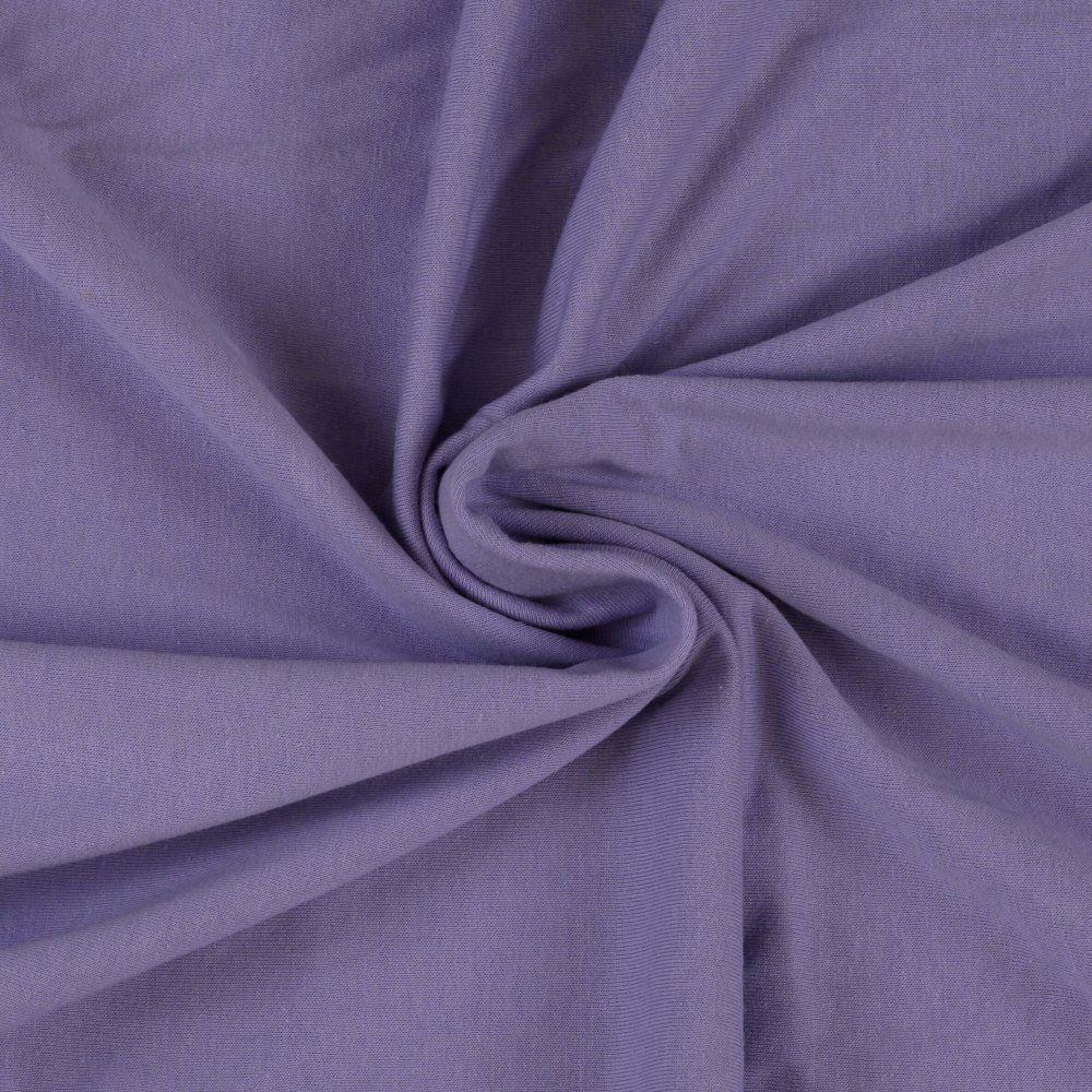 Jersey prostěradlo světle fialové