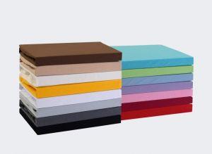 Kvalitná napínacia jersey plachta českého výrobcu svetlo šedej farby, Kvalitex