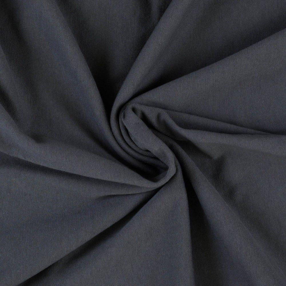 Jersey prostěradla tmavě šedé