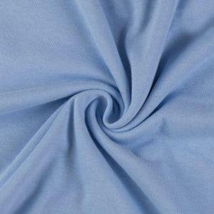 Jersey prestieradlo svetlo modré