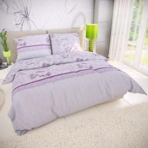 Bavlnené obliečky Lavende fialová