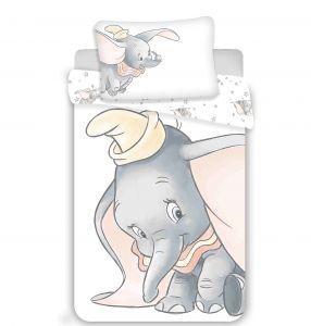 Disney obliečky do postieľky Dumbo grey